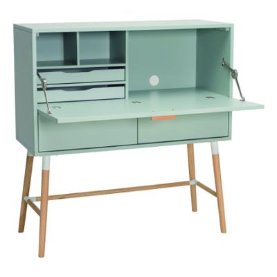 Araud Working Desk - Sage Green - Image 1