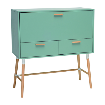Araud Working Desk - Sage Green - Image 2