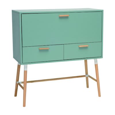 Araud Working Desk - Sage Green - Image 2