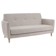 Belle 3 Seater Sofa - Almond - Image 2