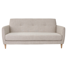 Belle 3 Seater Sofa - Almond - Image 1