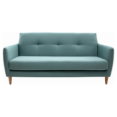 Belle 3 Seater Sofa - Jade - Image 1