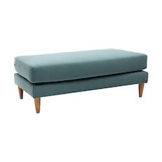 Belle Ottoman Sofa - Jade - Image 2