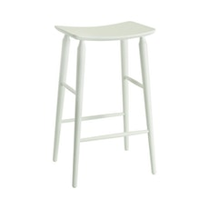 Lester Bar Stool - White Lacquered - Image 1