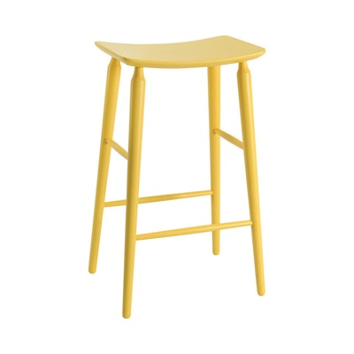 Lester Bar Stool - Dust Yellow Lacquered - Image 1