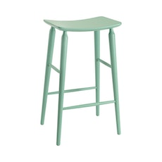 Lester Bar Stool - Light Green Lacquered - Image 1