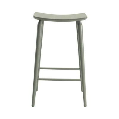 Lester Bar Stool - Light Green Lacquered - Image 2