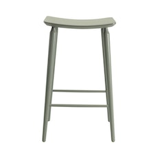 Lester Bar Stool - Dust Yellow Lacquered - Image 2