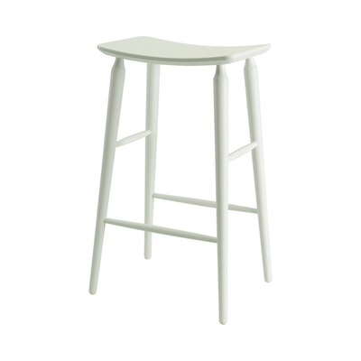 Lester Bar Stool - White Lacquered - Image 2
