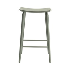 Lester Bar Stool - Grey Lacquered - Image 2