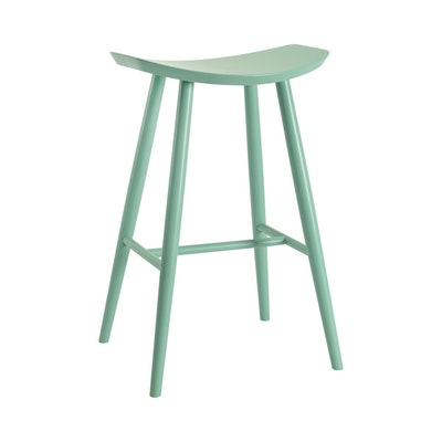 Philly Bar Stool - Light Green Lacquered - Image 1