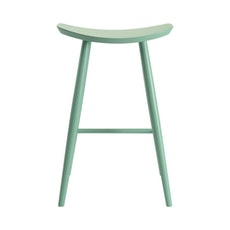 Philly Bar Stool - Light Green Lacquered - Image 2