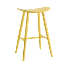 Philly Bar Stool - Dust Yellow Lacquered - Image 1