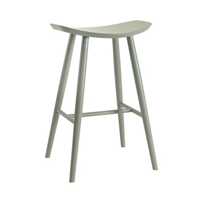 Philly Bar Stool - Grey Lacquered - Image 1