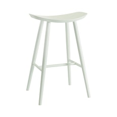 Philly Bar Stool - White Lacquered - Image 1