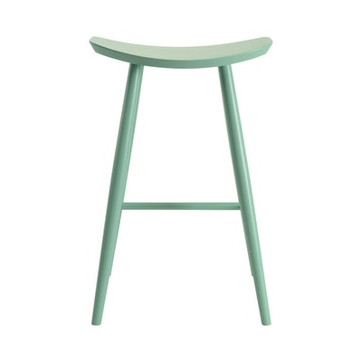Philly Bar Stool - White Lacquered - Image 2