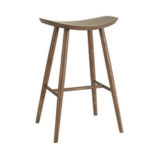 Philly Bar Stool - Walnut Veneer - Image 1