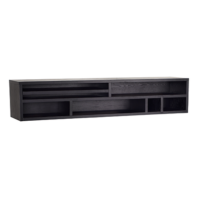 Ezra Wall Storage Unit - Black Ash - Image 1