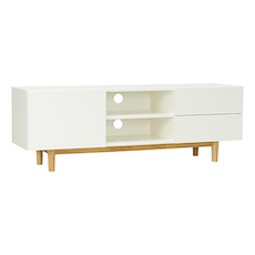 Potter TV Cabinet - Natural, White - Image 2
