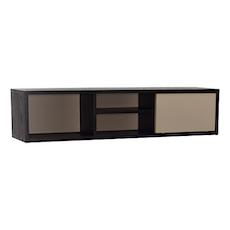Mabon Wall Storage Unit - Black, Taupe Grey - Image 2