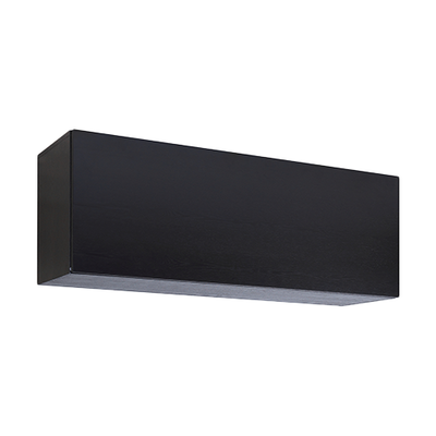 Vito 1M Hanging Cabinet - Black Ash - Image 1