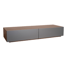 Vito 1.5M Base Cabinet - Walnut, Grey - Image 1