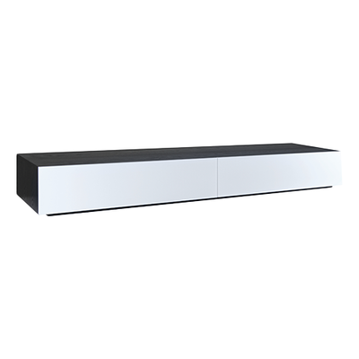 Vito 2M Base Cabinet - Black Ash, White - Image 1