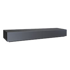 Vito 2M Base Cabinet - Black Ash, Grey - Image 1