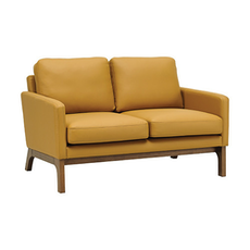 Cove Twin Seater Sofa - Cocoa, Caramel - Image 1