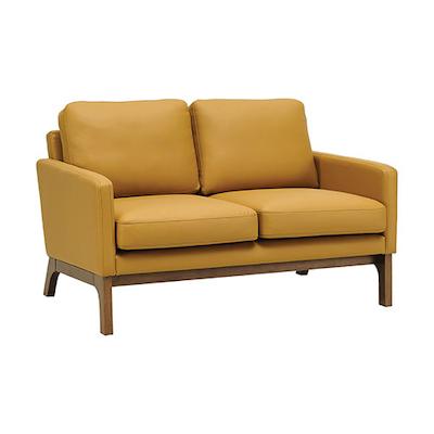 Cove Twin Seater Sofa - Cocoa, Caramel - Image 1