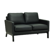 Cove Twin Seater Sofa - Black, Espresso - Image 1