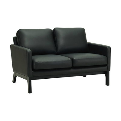 Cove Loveseat - Black, Espresso - Image 1