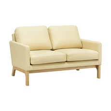 Cove Twin Seater Sofa - Natural, Cream - Image 1