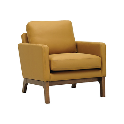 Cove Single Seater Sofa - Cocoa, Caramel - Image 1