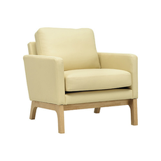 Cove Single Seater Sofa - Natural, Cream - Image 1