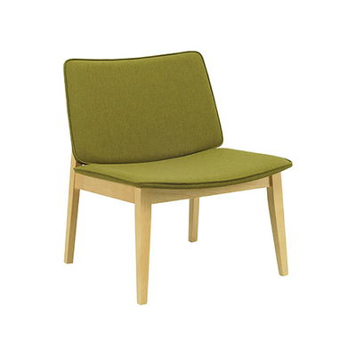 William Lounge Chair - Natural, Olive (Set of 2) - Image 1