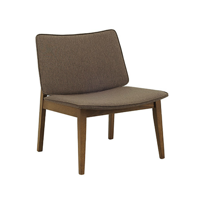 William Lounge Chair - Cocoa, Chestnut (Set of 2) - Image 1