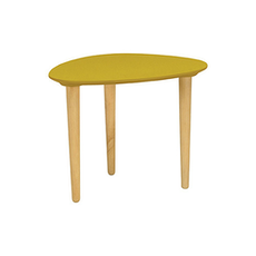 Corey Occasional Low Table - Olive Yellow - Image 1