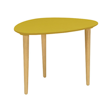 Corey Occasional Medium Table - Olive Yellow - Image 1