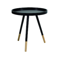 Innis Coffee Table - Natural, Black - Image 1