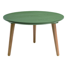 Carsyn Round Coffee Table - Pickle Green - Image 1