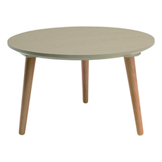 Carsyn Round Coffee Table - Taupe Grey - Image 1