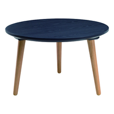 Carsyn Round Coffee Table - Marine Blue - Image 1