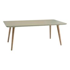 Carsyn Rectangular Coffee Table - Taupe Grey - Image 1
