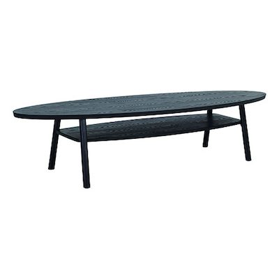 Saylor Magazine Table - Black Ash - Image 1