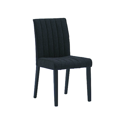 Strip Dining Chair - Black, Ash (Set of 2) - Image 1