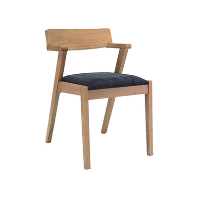 Imogen Dining Chair - Natural, Seal (Set of 2) - Image 1