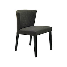Rhoda Chair - Black, Mud (Set of 2) - Image 1