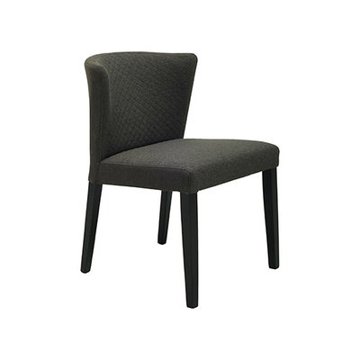 Rhoda Chair - Black, Mud (Set of 2) - Image 1