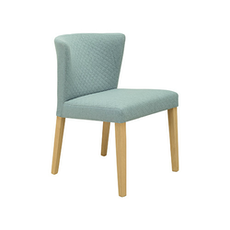 Rhoda Chair - Natural, Aquamarine (Set of 2) - Image 1
